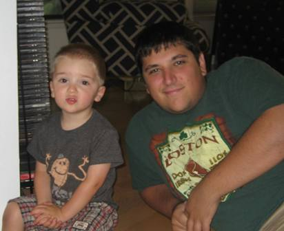 Zach and Uncle Alex
